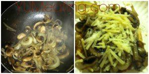 I <3 mushroom and onions