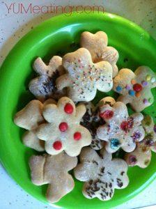 Weight Watchers recipe cookies - Shamrock Cookie