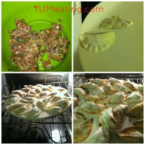 pot stickers process