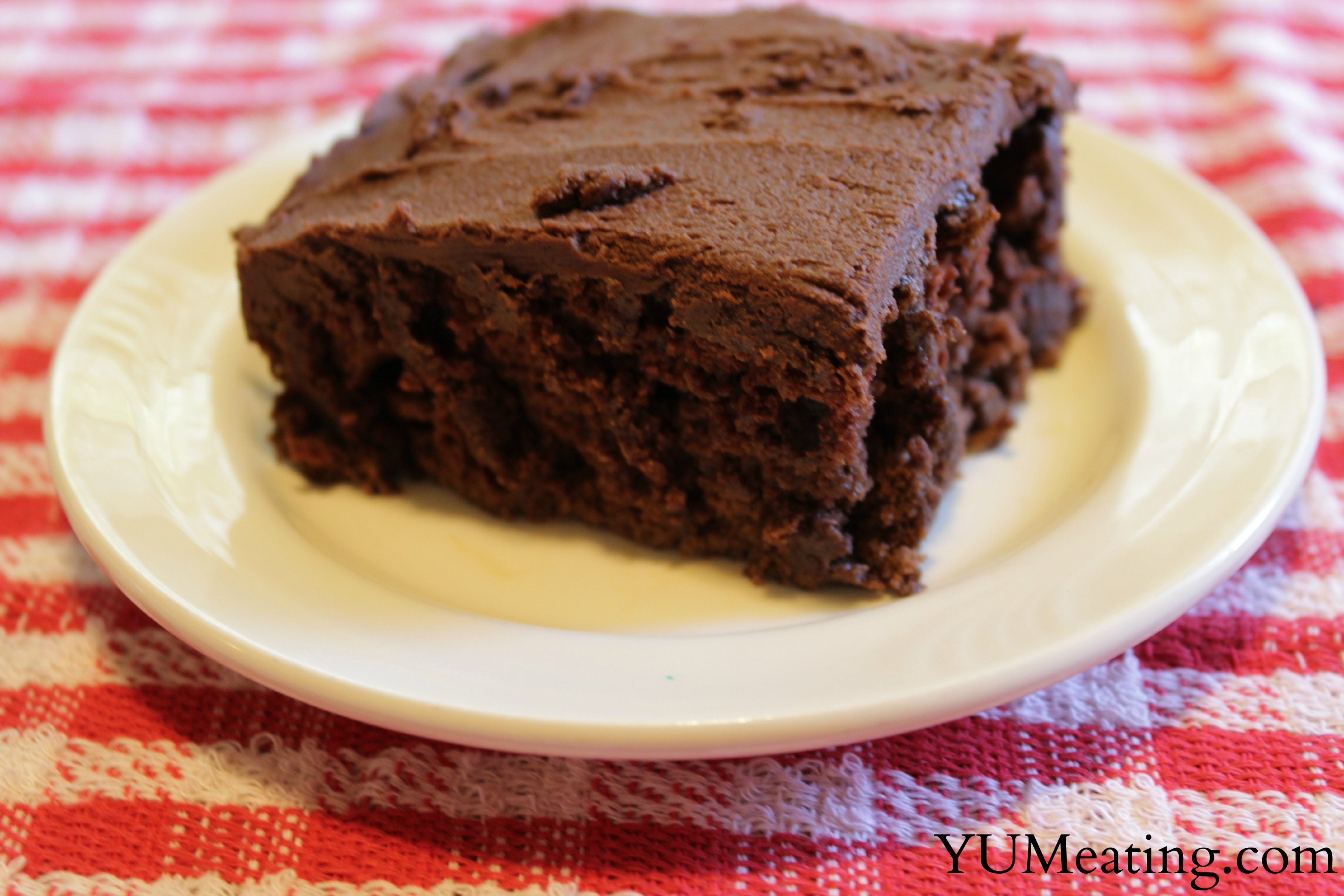 Homemade Miracle Whip Chocolate Cake