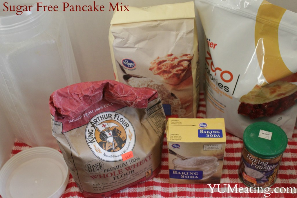 sugar free pancake mix
