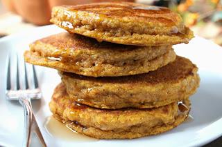 083 pumpkin oat pancakes