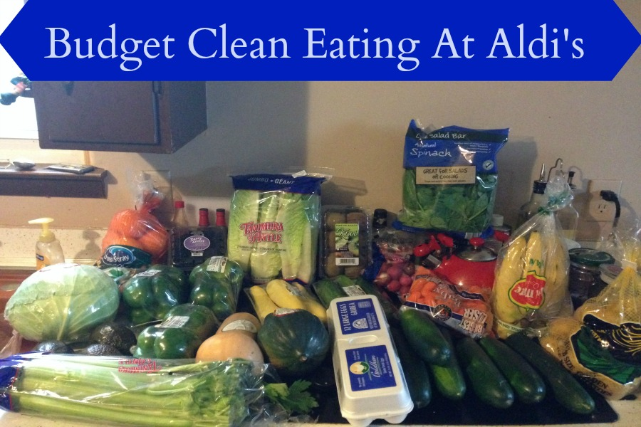 budget clean eating aldies