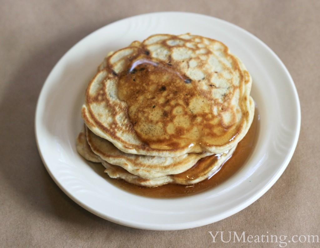 carob-chip-pancakes