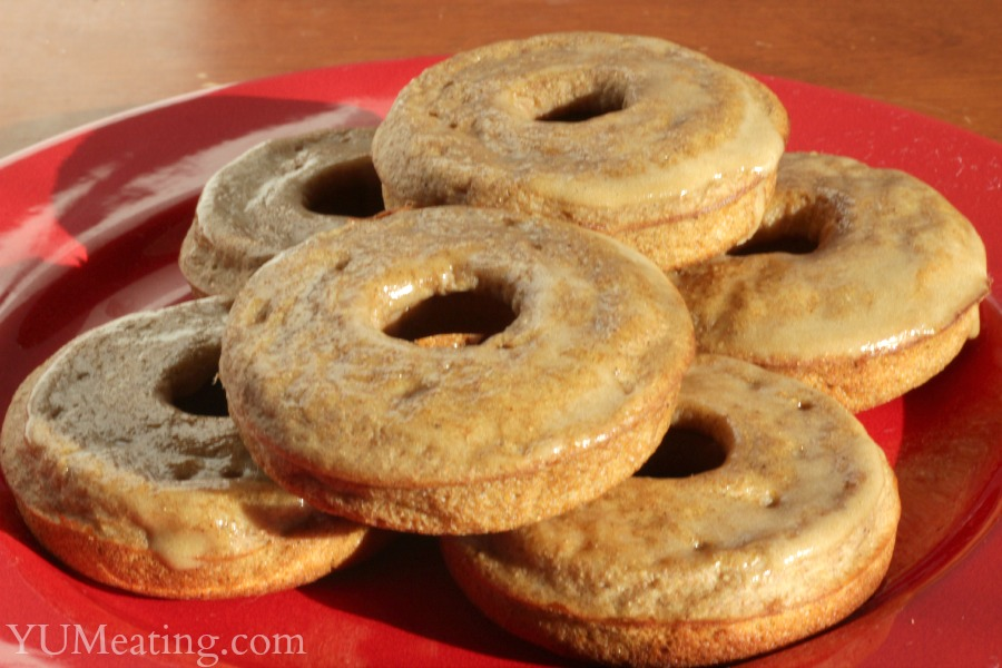 clean eating pumpkin donuts