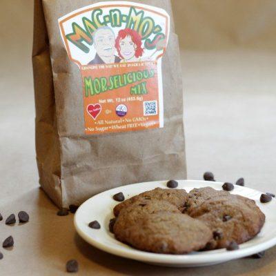 Morselicious Sugar-Free Carob Chip Cookies