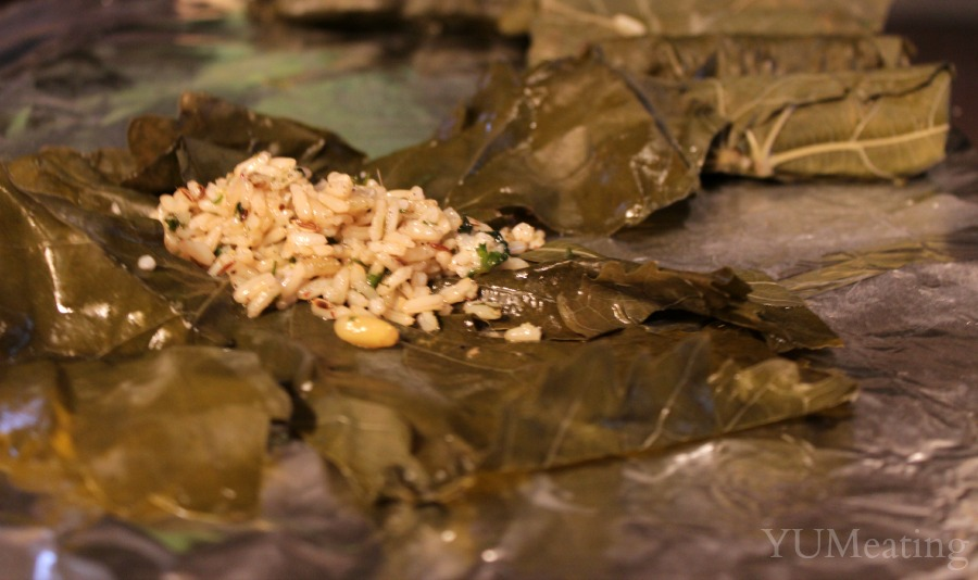 grape leaves vegetarian