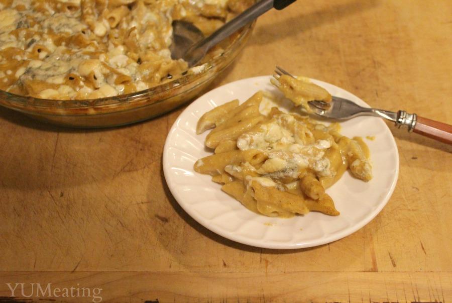 Gorgonzola butternut squash