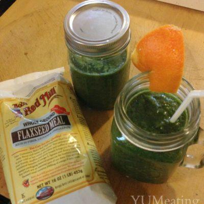 Orange Kiss Sunrise Green Smoothie