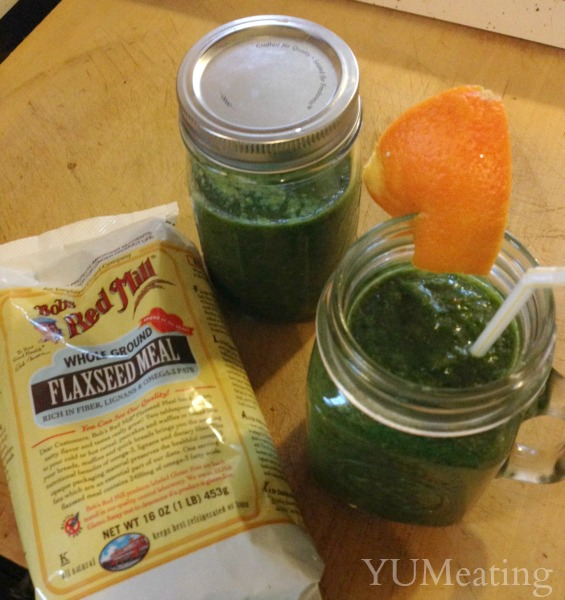 Orange Sunrise Green Smoothie