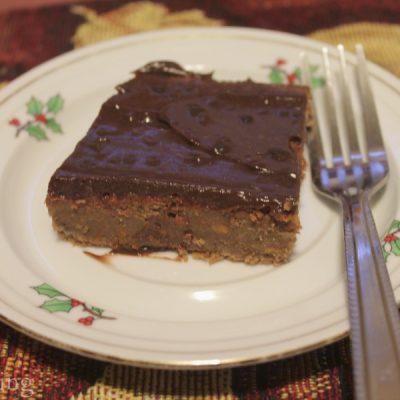 Chocolate Carrot Zucchini Cake
