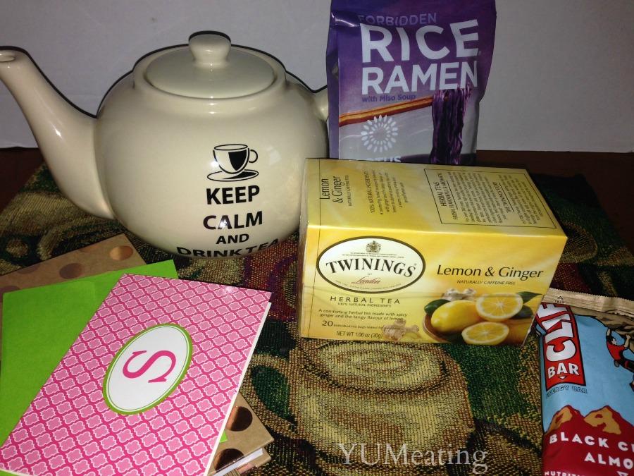 foodie pen pal tea pot and treasures