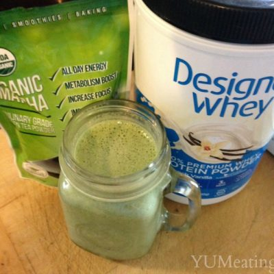 Spinach and Green Tea Smoothie