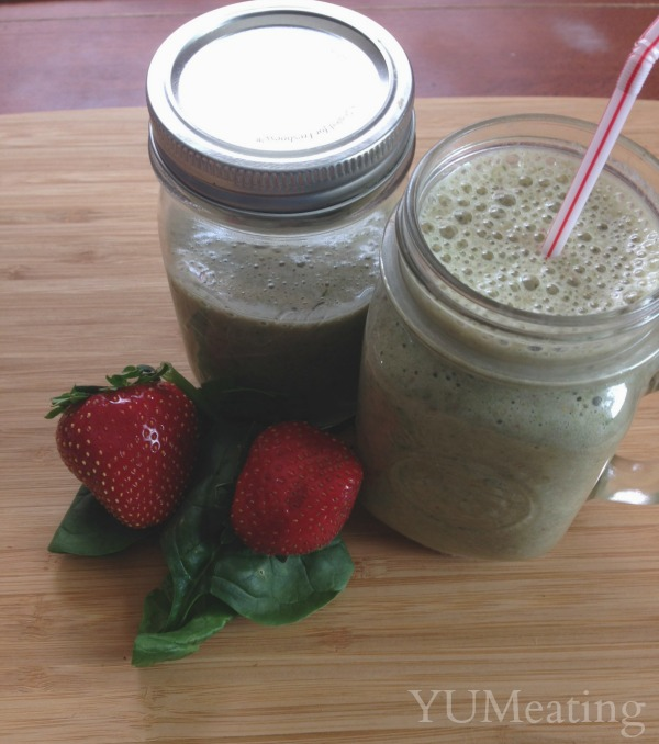 strawberry banana spinach