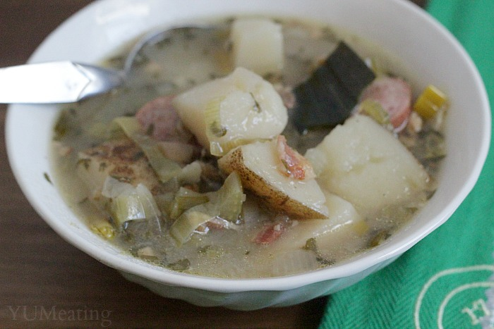 dublin coddle close up