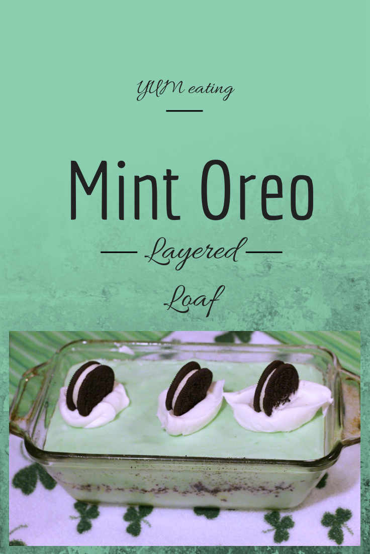 Mint Oreo Loaf