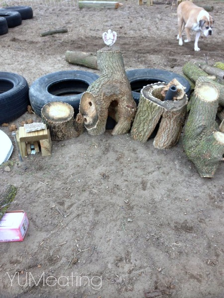 fairy garden trash to treasure