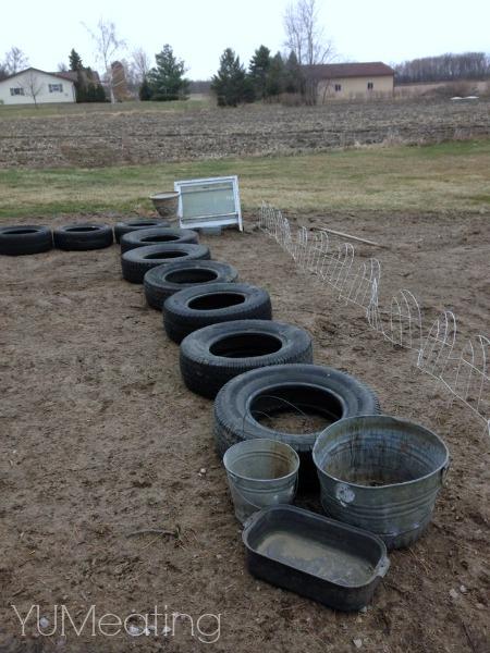 trash to treasure garden tires