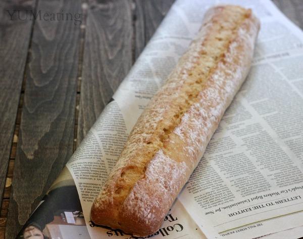 ciabatta baguette picnic bread