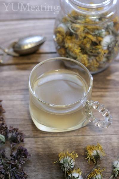 dandelion lilac tea