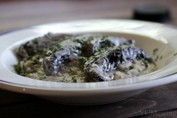 mushroom cornmeal