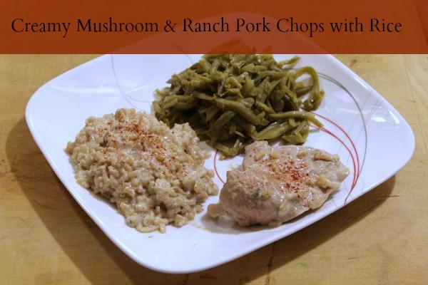 mushroom ranch pork chops