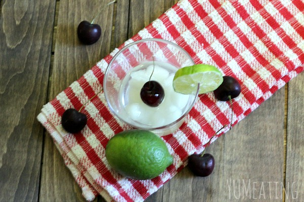 sunshine cherry lime tequila