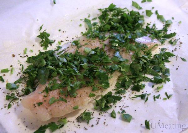 fish parchmant paper