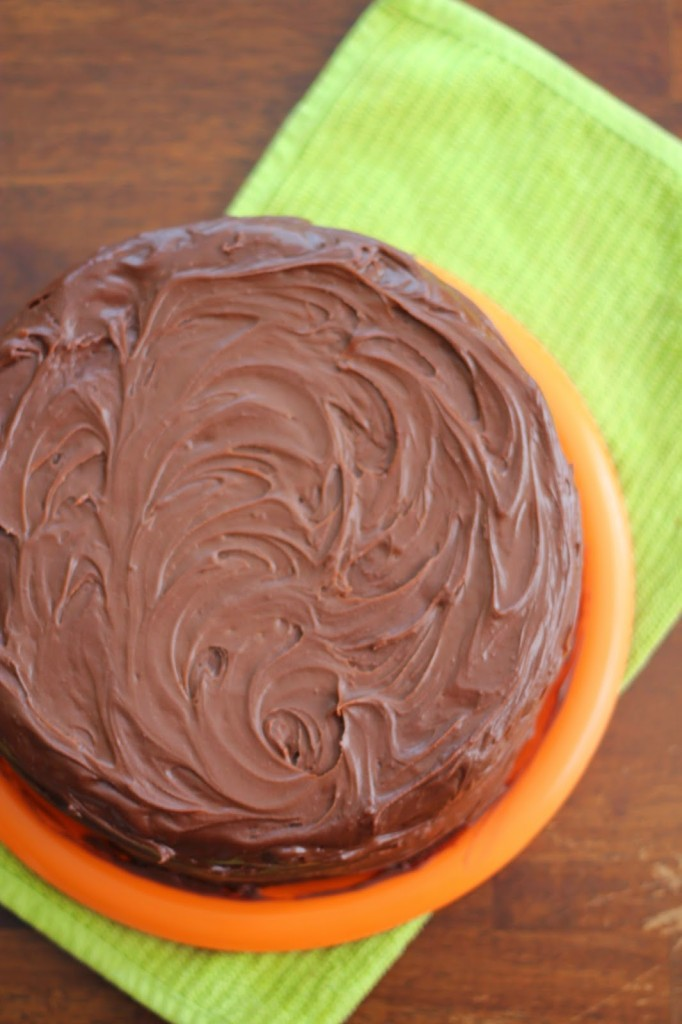 fudge chocolate cake
