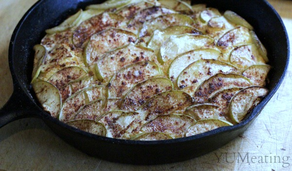 Dutch Apple Skillet Cake