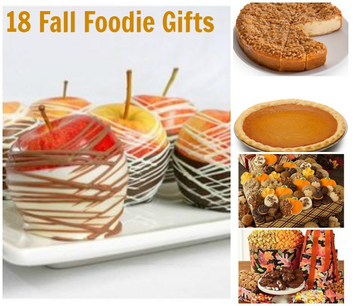 18 The Taste of Fall Foodie Gifts-collage
