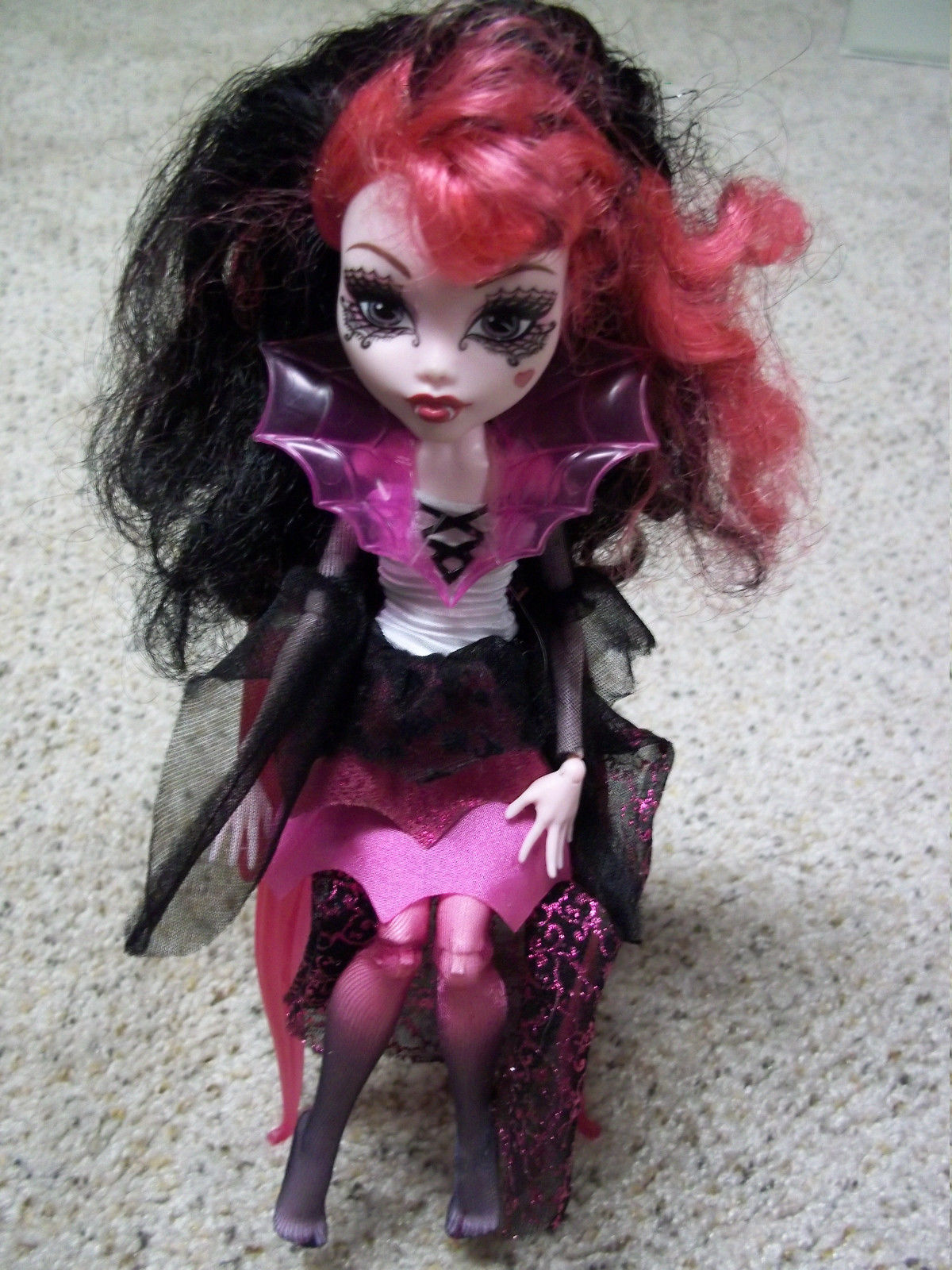 How To Fix Frizzy Monster High Doll Hair Nevermore Lane