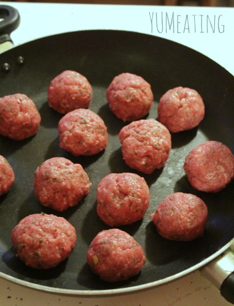 lean and mean meatballs