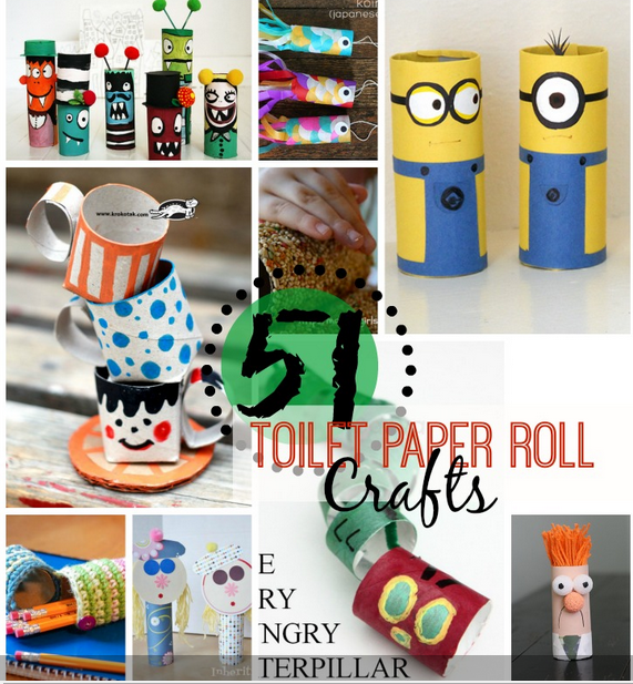 51 Toilet Paper Roll Crafts.jpg  729×800
