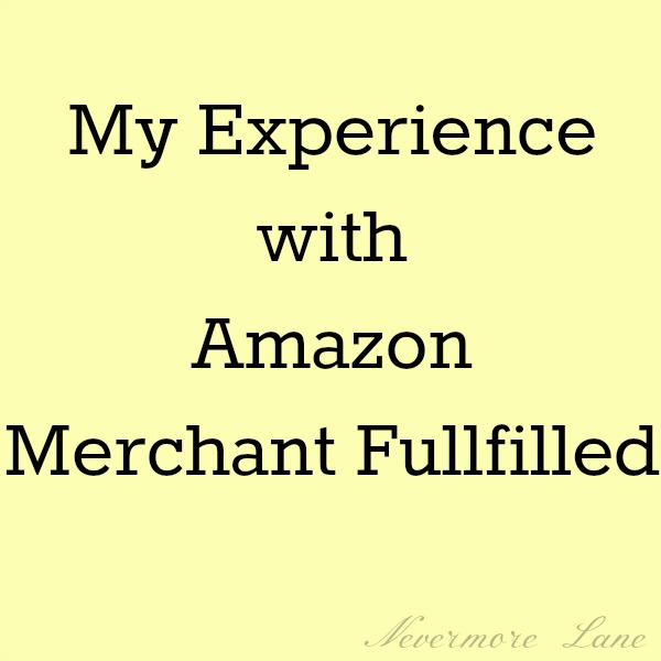 My Experience with Amazon Merchant Fullfilled