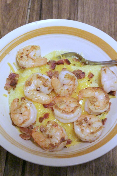 cheese grits bacon shrimp