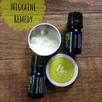 DIY Homemade Migraine Remedy