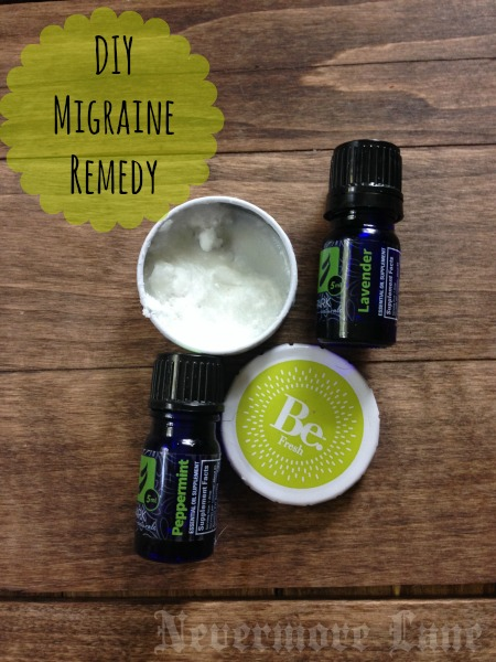 DIY Homemade Migraine Remedy