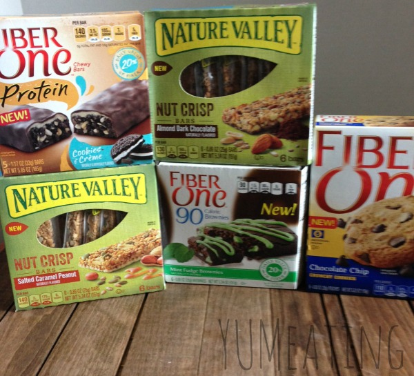 fiber one nature valley products