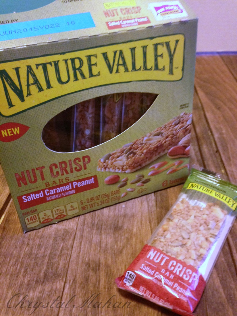 nature valley nut crips