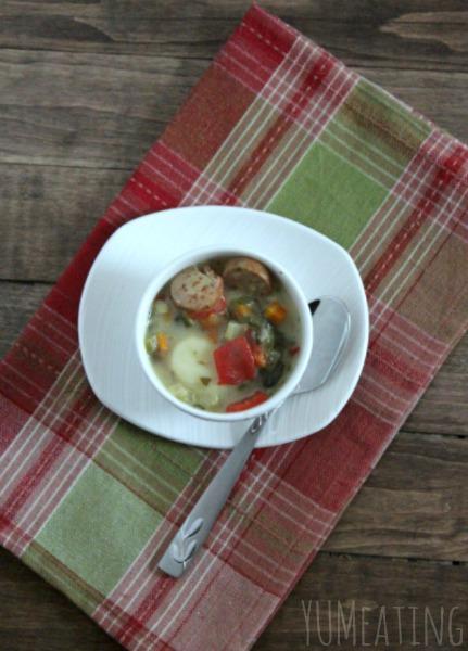rustic gnocchi skinny soup