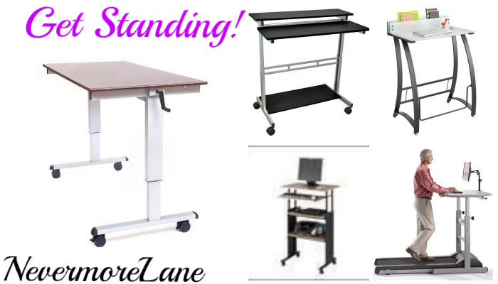 Work at Your Desk all Day- Get Standing! | Nevermore Lane