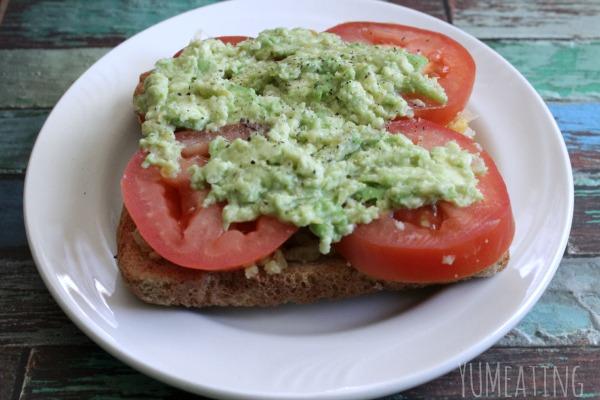 Vegan Avocado Breakfast Toast
