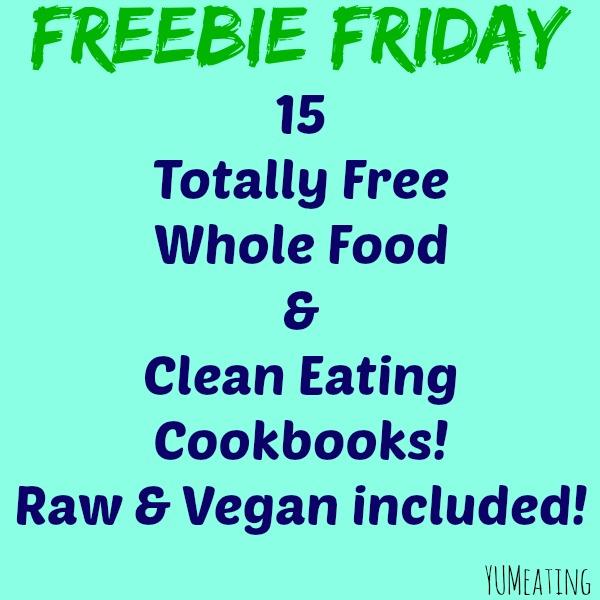 whole food clean eating vegan cookbooks