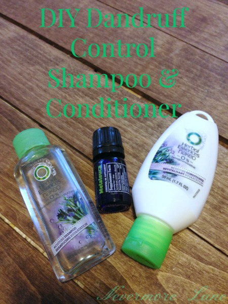 #DIY Dandruff Control Shampoo & Conditioner | Nevermore Lane