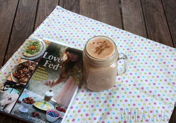 Love Fed : Spice of Life Shake - YUMeating.com #rawfood