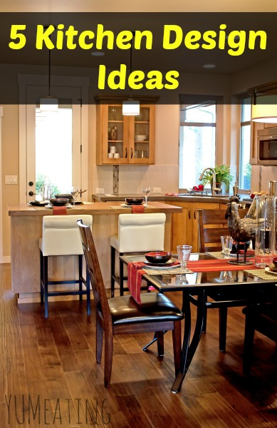 5 kitchen design ideas | YUM eating