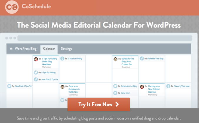 Blogging for Dollars: Keeping it Organized with CoSchedule