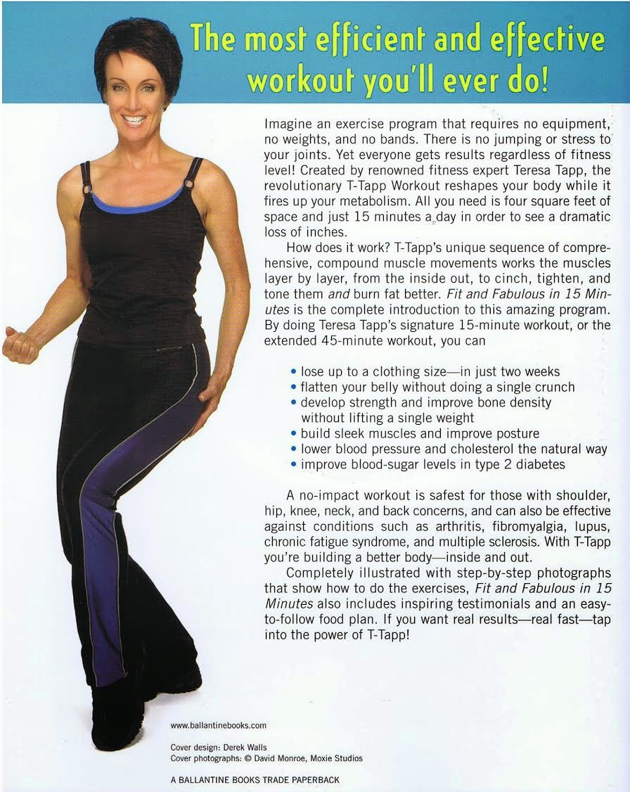 Fit and Fabulous! with Teresa Tapp and the T-Tapp Workout