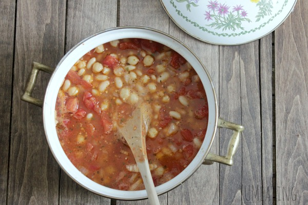 Chickpea Stew with White Beans